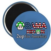 2up for America Magnet