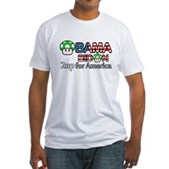 2up for America Fitted T-Shirt