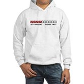 Off-Gassing ... Please Wait Hooded Sweatshirt
