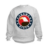 Obama-Biden Eagle Kids Sweatshirt