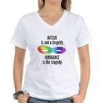 Not a Tragedy Women's V-Neck T-Shirt