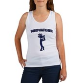 Kokopelli Birdwatcher Women's Tank Top