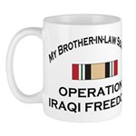 My Brother-in-law served OIF Mug