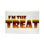 Glowing I'm the Treat Rectangle Magnet (100 pack)