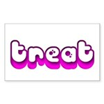 Retro Treat Rectangle Sticker 10 pk)