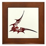 Vampire Bat 1 Framed Tile