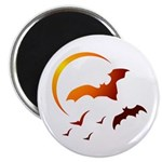 Flying Vampire Bats Magnet