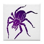 Purple Spider Tile Coaster