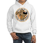 Paws for the Cure: Leukemia Hooded Sweatshirt