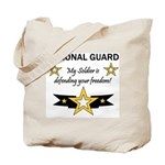 National Guard Soldier Freedo Tote Bag