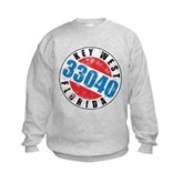 Vintage Key West 33040 Kids Sweatshirt