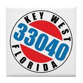 Key West 33040 Tile Coaster