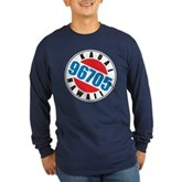 Kauai Hawaii 96705 Long Sleeve Dark T-Shirt