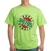 Vintage Kauai Hawaii 96705 Green T-Shirt