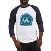 Open Water Diver 2009 Baseball Jersey