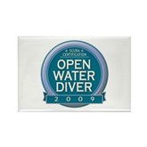 Open Water Diver 2009 Rectangle Magnet