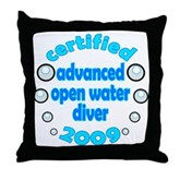 Advanced OWD 2009 Throw Pillow