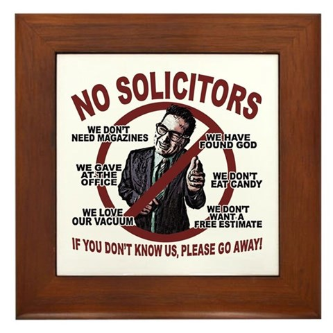 My no soliciting sign is not working babycenter - Funny soliciting signs ...