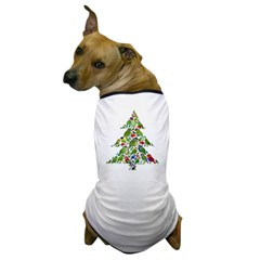 Birdorable Parrot Christmas Tree Dog T-Shirt