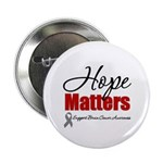 "Hope Matters Brain Cancer 2.25"" Button (10 pack)"