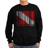 Barcode Dive Flag Sweatshirt (dark)