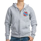 Key West 33040 Women's Zip Hoodie