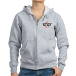 Everyone loves a Fat girl Women's Zip Hoodie