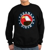 Obama-Biden Eagle Sweatshirt (dark)