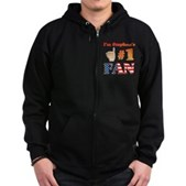 I'm Stephen's #1 Fan Zip Hoodie (dark)