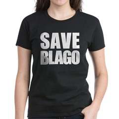 Save Illinois Governor Blagojevich, he's innocent! Women's Dark T-Shirt