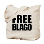 Free Illinois Governor Blagojevich, he's innocent! Tote Bag