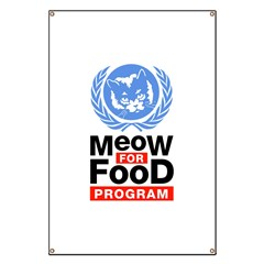Meow For Food Program Banner