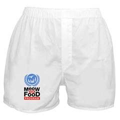 Meow For Food Program Boxer Shorts