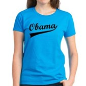 Obama Swish Women's Dark T-Shirt