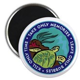 Take Only Memories (turtle) Magnet