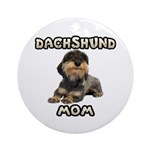 Wirehaired Dachshund Ornament for Mom