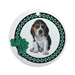 Irish Beagle Ornament