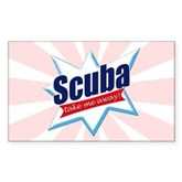 Scuba Take Me Away Rectangle Sticker