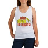 The Dive Is Right Women's Tank Top