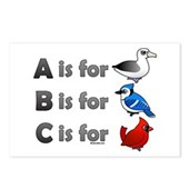 B is for Birdorable Postcards (Package of 8)