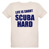 Scuba Hard Organic Kids T-Shirt