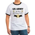 US Army Mom Freedom Ringer T