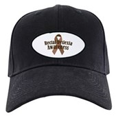 Rectal Dyslexia Awareness Black Cap