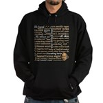 Shakespeare Insults T-shirts & Gifts Hoodie (dark)