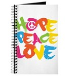 Hope Peace Love Journal