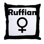 Ruffian Throw Pillow