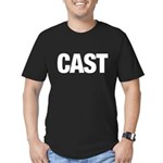 Cast Member T-Shirts Men's Fitted T-Shirt (dark)