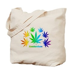 Rainbow Amsterdam Tote Bag
