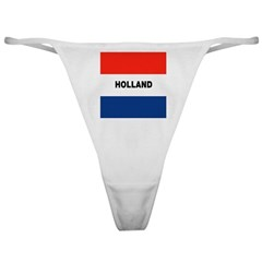 Holland Dutch Flag Classic Thong