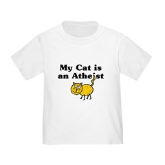 My Cat Is An Atheist Infant/Toddler T-Shirt